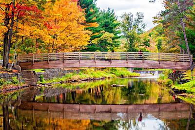 Water Filter Photograph - Ole Bull State Park Paint by Steve Harrington