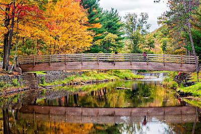 Bull Creek Photograph - Ole Bull State Park by Steve Harrington