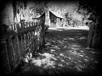 Photograph - Ole Fence And Cook House 1 by Sheri McLeroy
