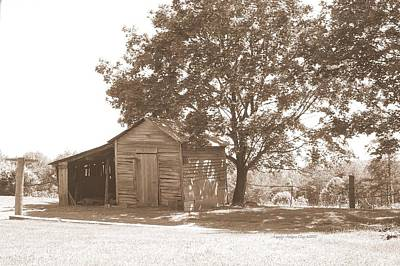 Digital Art - Ole Homeplace by Angelia Hodges Clay