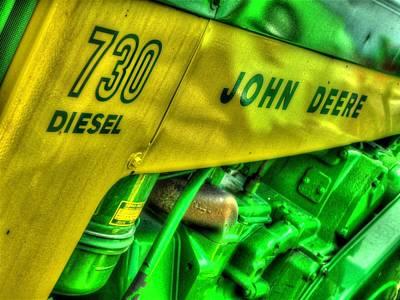 Tractor Photograph - Ole John Deere by Michael Allen