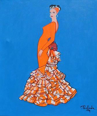Painting - Ole by Jorge Parellada