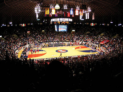 Ole Miss Rebels C.m. 'tad' Smith Coliseum Print by Replay Photos