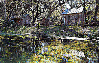 Photograph - Ole Riverside Farm Silver Springs 1 by Sheri McLeroy