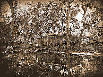 Photograph - Ole Silver Springs Cabin 1 by Sheri McLeroy