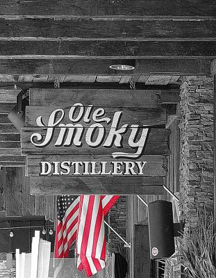 Ole Smoky Distillery Print by Dan Sproul