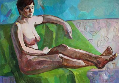 Painting - Olesya by Juliya Zhukova