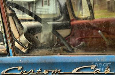 Photograph - Old Ford F-600 Custom Cab by Adam Jewell