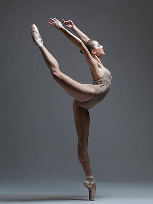 Graceful Photograph - Olga Kuraeva by Alexander Yakovlev
