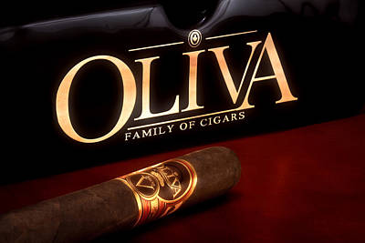 Oliva Cigar Still Life Art Print by Tom Mc Nemar