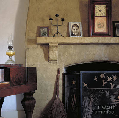Photograph - Olivas Adobe Hearth by Kathleen Gauthier