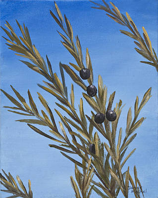 Painting - Olive Branch  by Darice Machel McGuire
