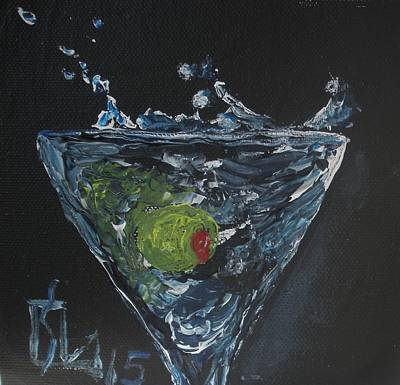 Painting - Olive Splash by Lee Stockwell