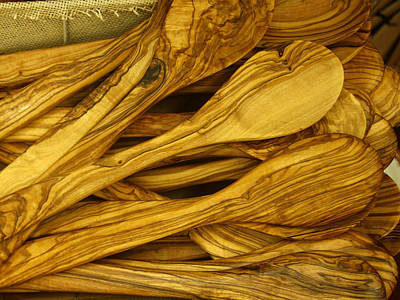 Photograph - Olive Wood by Rick Locke