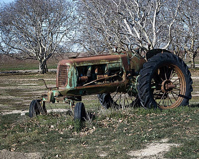 Photograph - Oliver Farm Tractor by William Havle