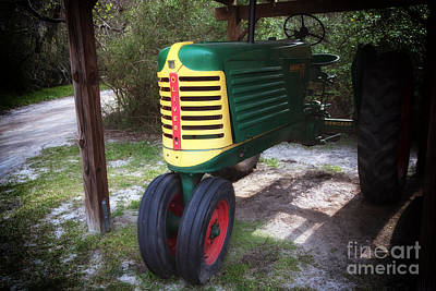 Oliver Tractor Photograph - Oliver by John Rizzuto