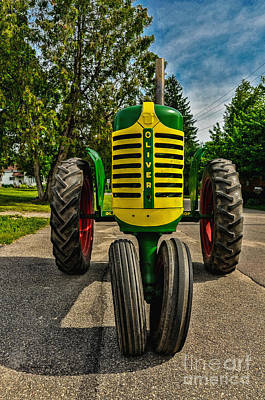 Art Print featuring the photograph Oliver Row Crop Ogdensburg Puller by Trey Foerster