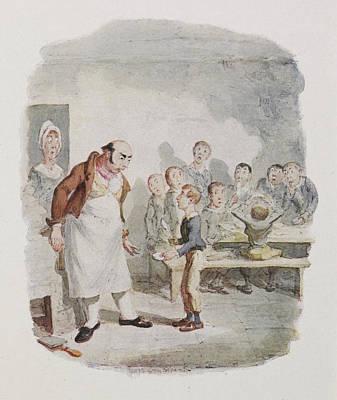 Oliver Twist Art Print by British Library