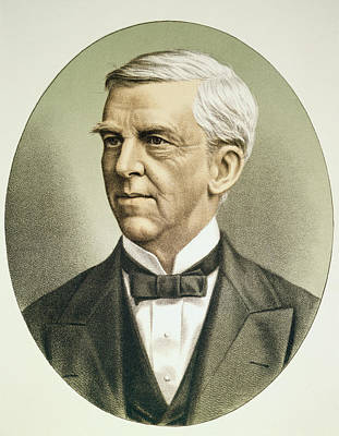Holm Painting - Oliver Wendell Holmes (1808-1894) by Granger