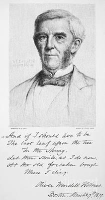 Oliver Wendell Holmes Art Print by Granger