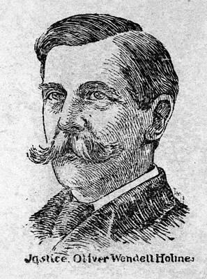 Oliver Wendell Holmes, Jr Art Print by Granger