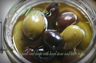 Photograph - Olives by Christopher Rees