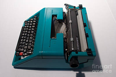 Typewriter Photograph - Olivetti Typewriter 10 by Pittsburgh Photo Company