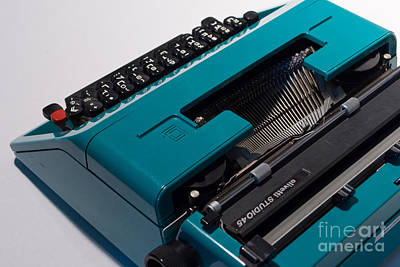 Olivetti Typewriter 11 Art Print by Pittsburgh Photo Company