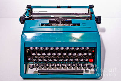 Olivetti Typewriter 2 Art Print by Pittsburgh Photo Company