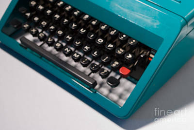 Olivetti Typewriter Soft Focus Art Print by Pittsburgh Photo Company