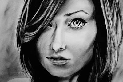 Olivia Drawing - Olivia Wilde by Jared  Stone