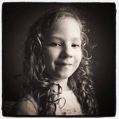 Iphone 4s Photograph - Olivie #lofi #olivie #daughter #iphone by Jan Kratochvil