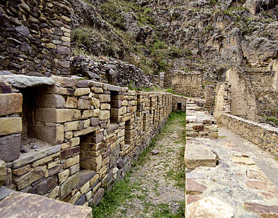 Photograph - Ollantaytambo Peru by Jared Bendis