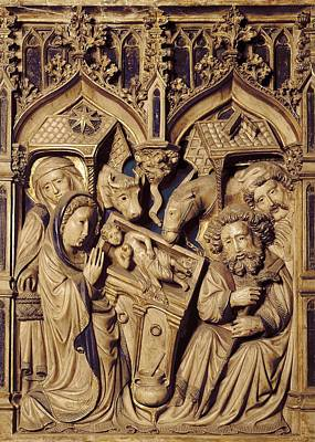 Oller, Pere 15th Century. Altarpiece Print by Everett