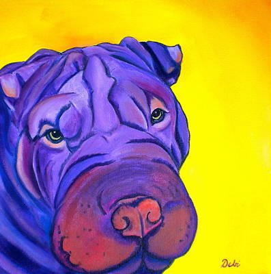 Painting - Ollie by Debi Starr