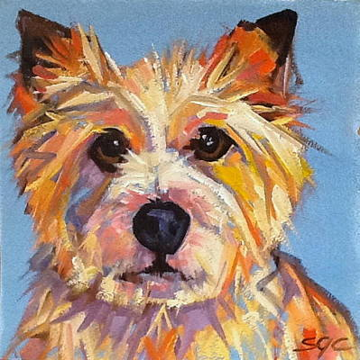 Painting - Ollie by Sarah Gayle Carter