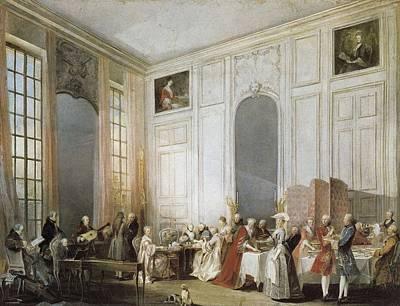 Ollivier, Michel Barth�lemy 1712-1784 Art Print by Everett