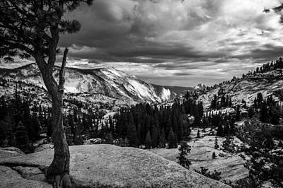 California Yosemite Photograph - Olmstead Point by Cat Connor