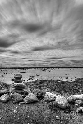 Winery Photograph - Ols Mission Peninsula Shoreline by Twenty Two North Photography