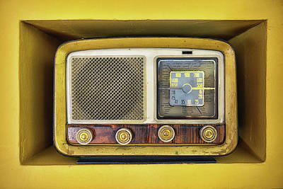 Indoors Photograph - Ols School Radio by Chema Mancebo