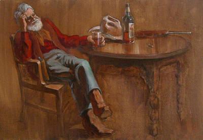 Painting - Ol'timer by Jack Adams
