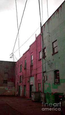 Photograph - Olympia Alleyway 2 by Devin  Cogger
