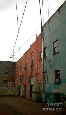 Photograph - Olympia Alleyway 3 by Devin  Cogger