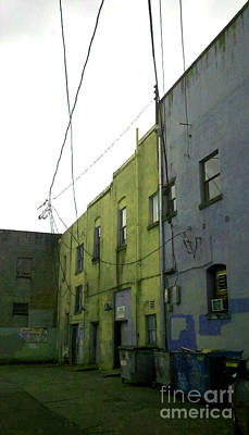Photograph - Olympia Alleyway 4 by Devin  Cogger