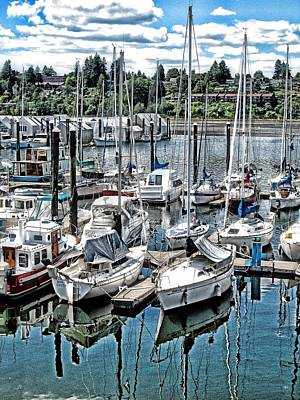 Photograph - Olympia Harbor by Phyllis Kaltenbach