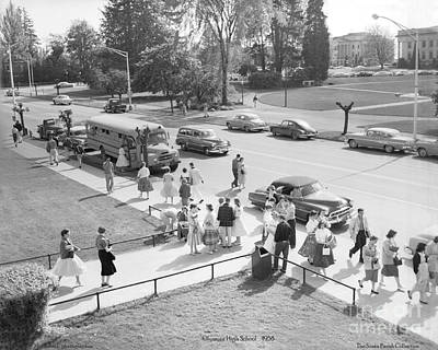 Olympia High School 1958 Art Print