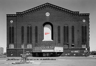 Photograph - Olympia Hockey Arena 2 by Andrew Fare