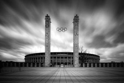 Art Print featuring the photograph Olympia by Marc Huebner