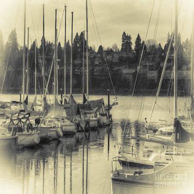 Photograph - Olympia Marina 2 by Jean OKeeffe Macro Abundance Art