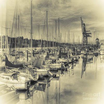 Photograph - Olympia Marina 3 by Jean OKeeffe Macro Abundance Art